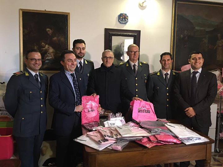 Le maglie del Giro d'Italia